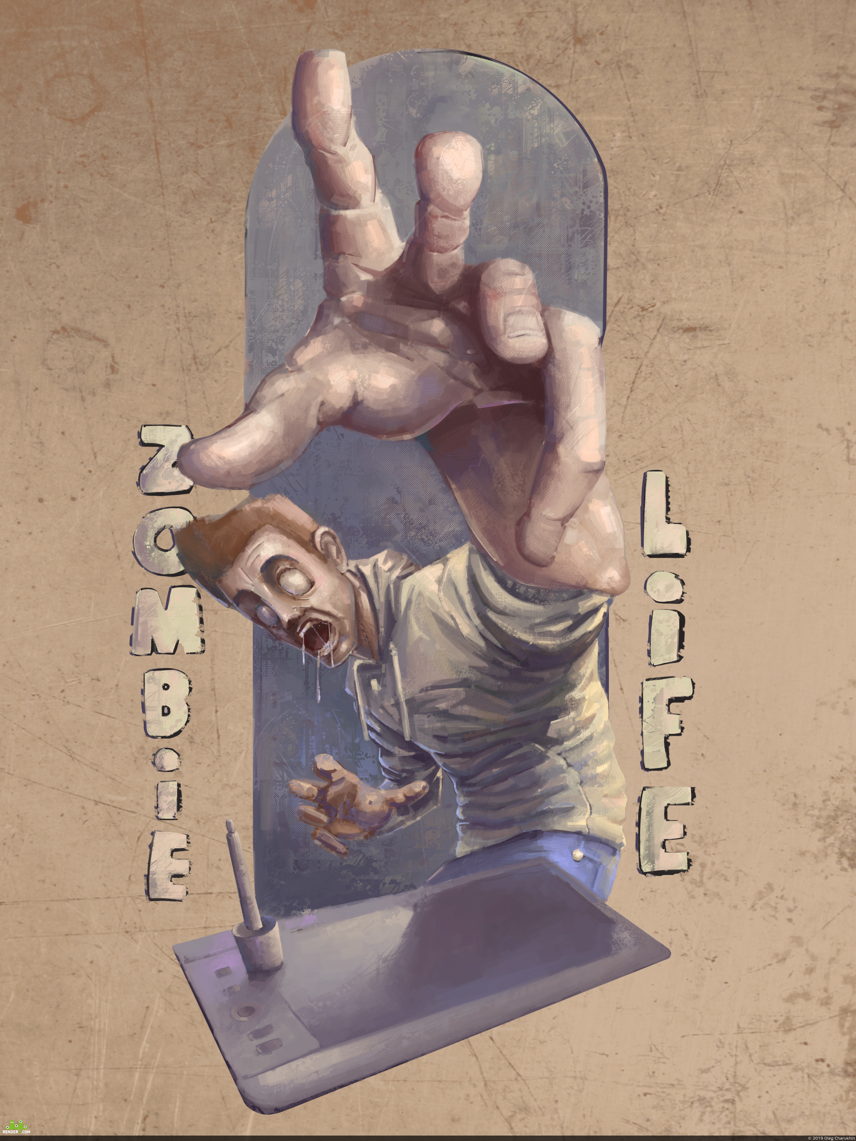 preview Zombie life