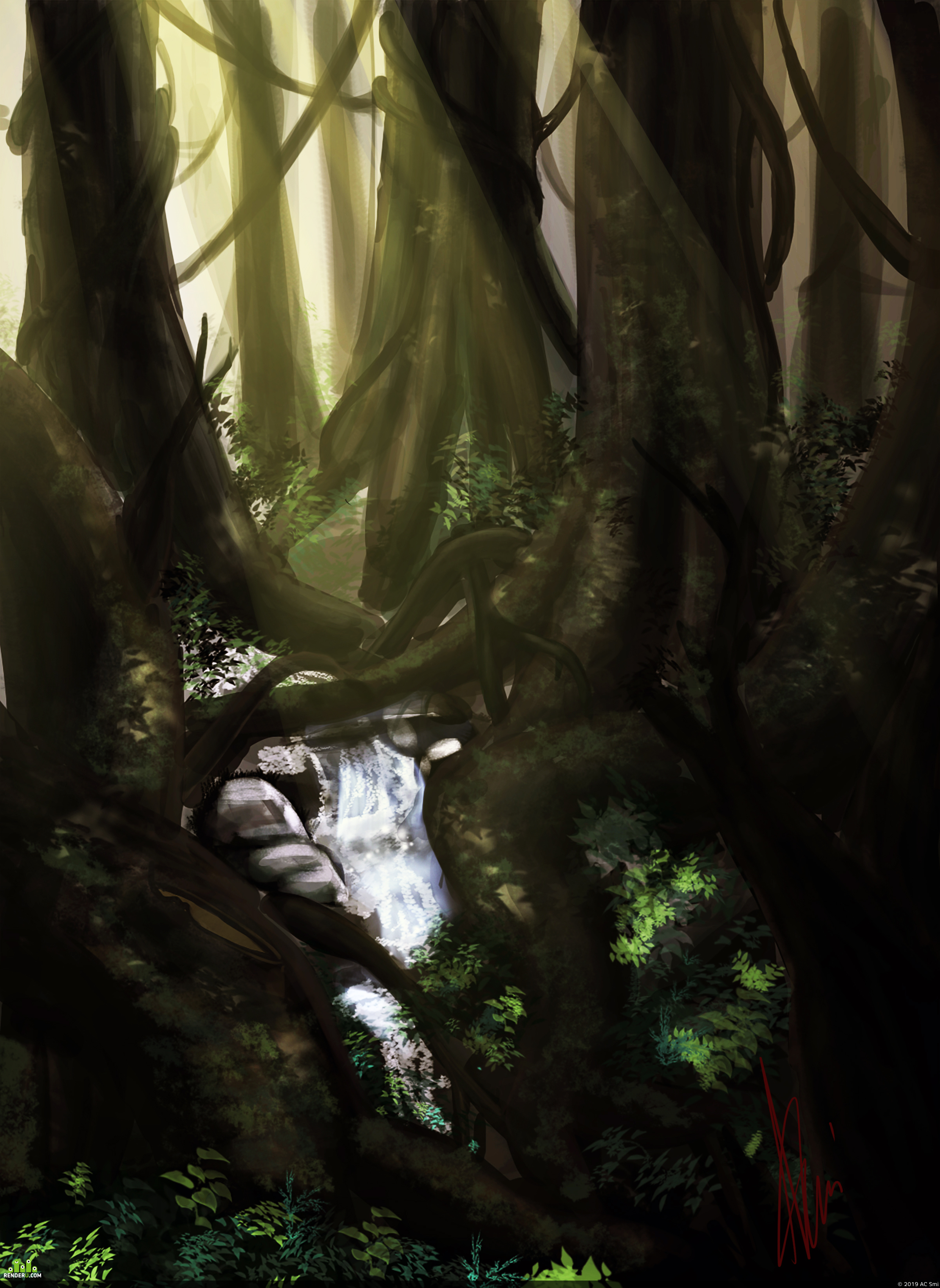 preview лес/forest
