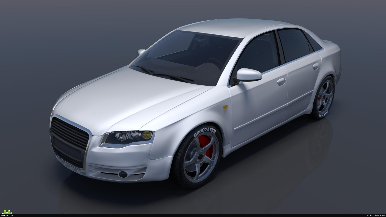 preview Audi A4 b7 sedan