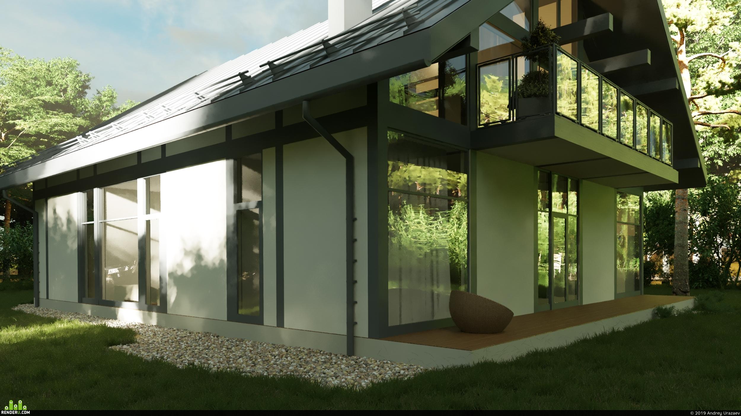 preview Индивидуальный жилой дом за городом