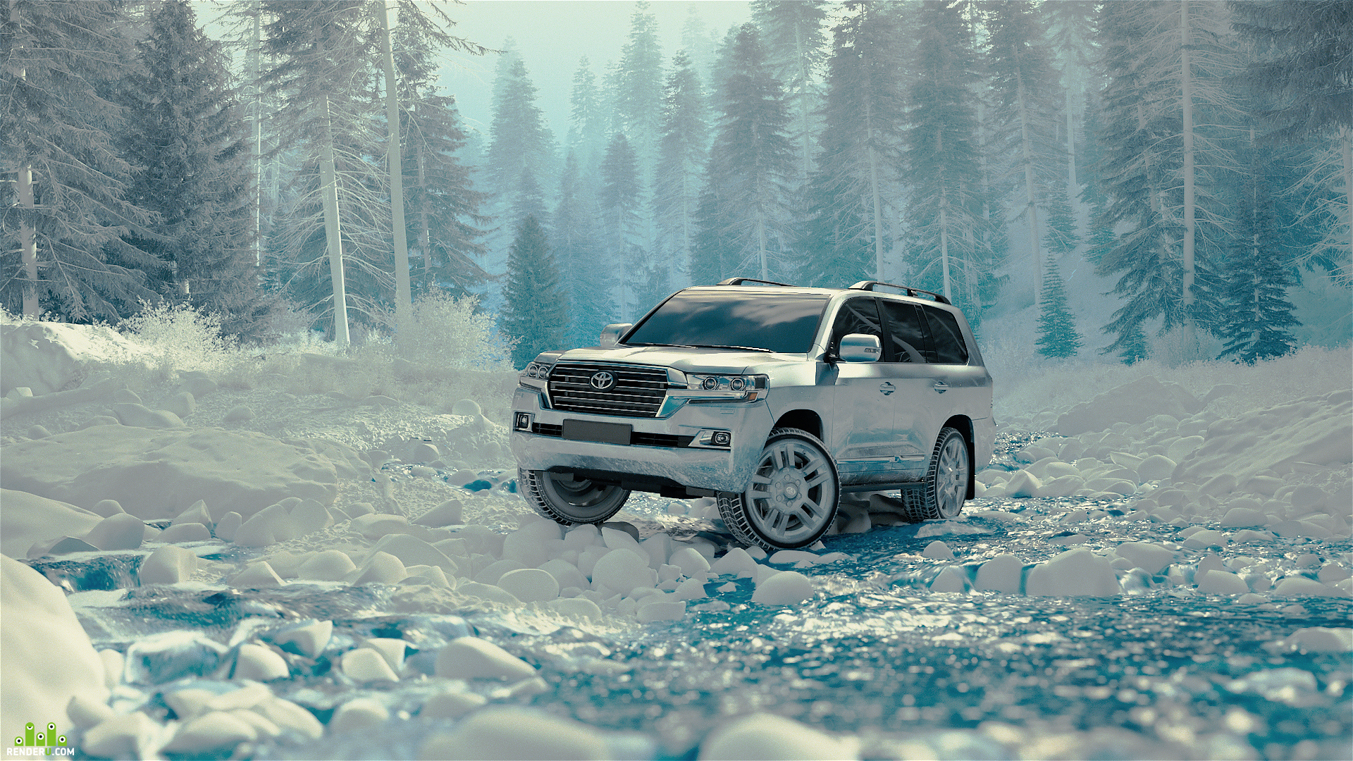 preview Toyota CG car and Environment
