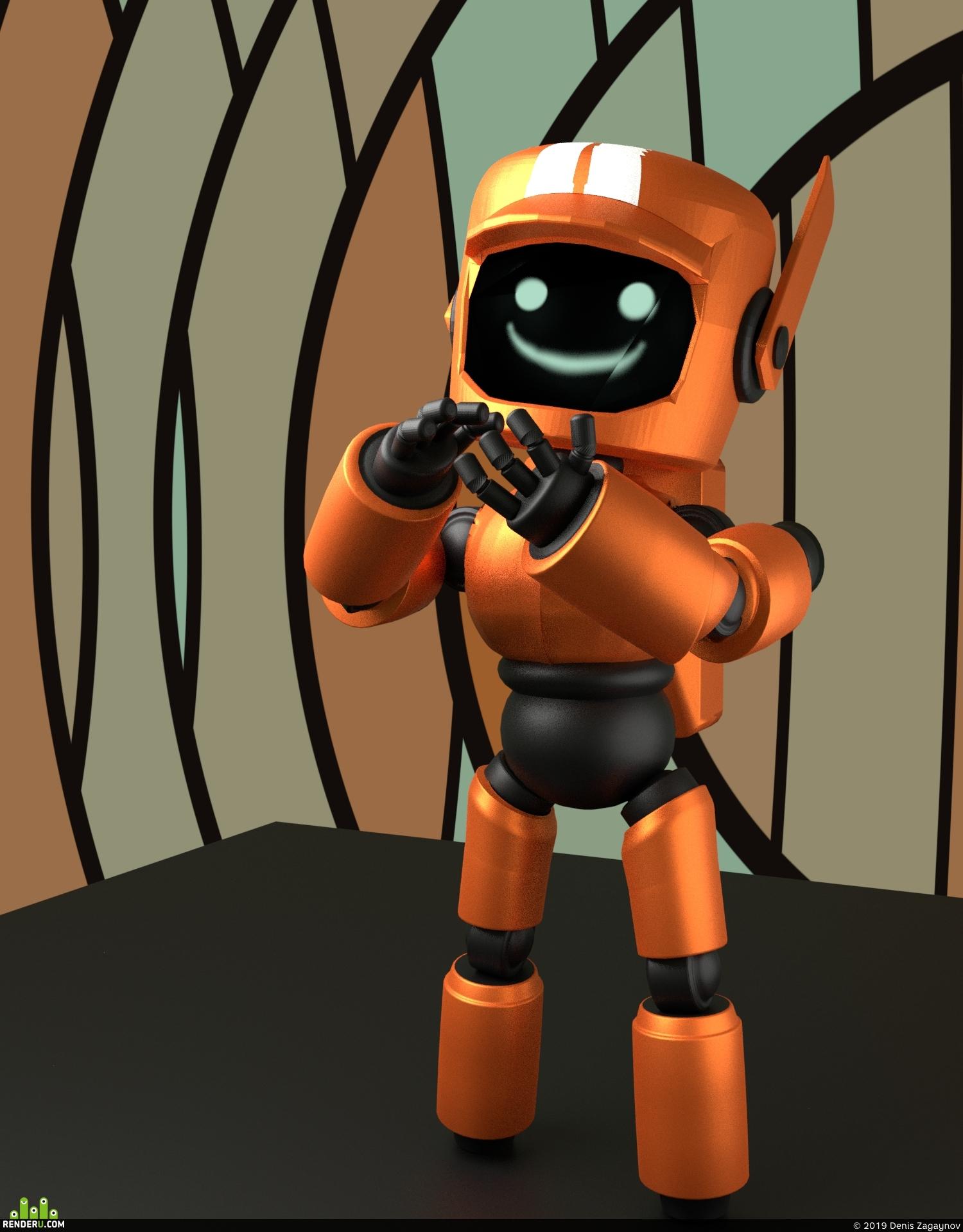 preview Маленький робот