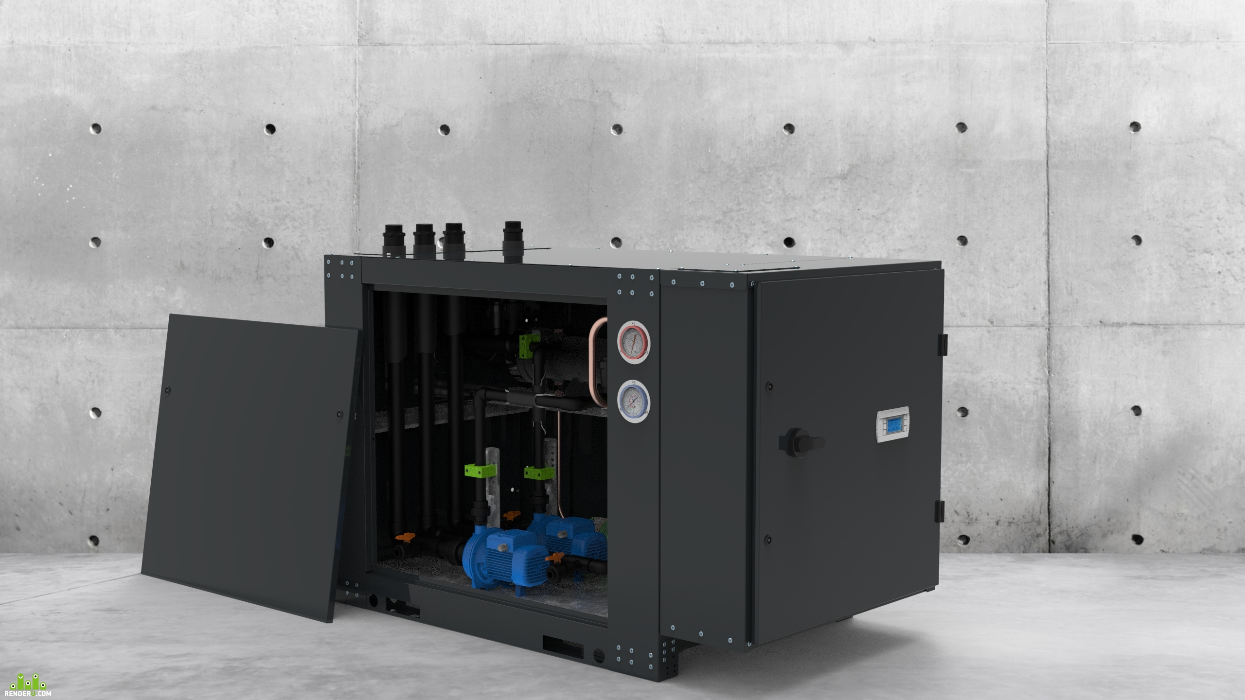 preview WATERCOOLED  SCROLL CHILLERS