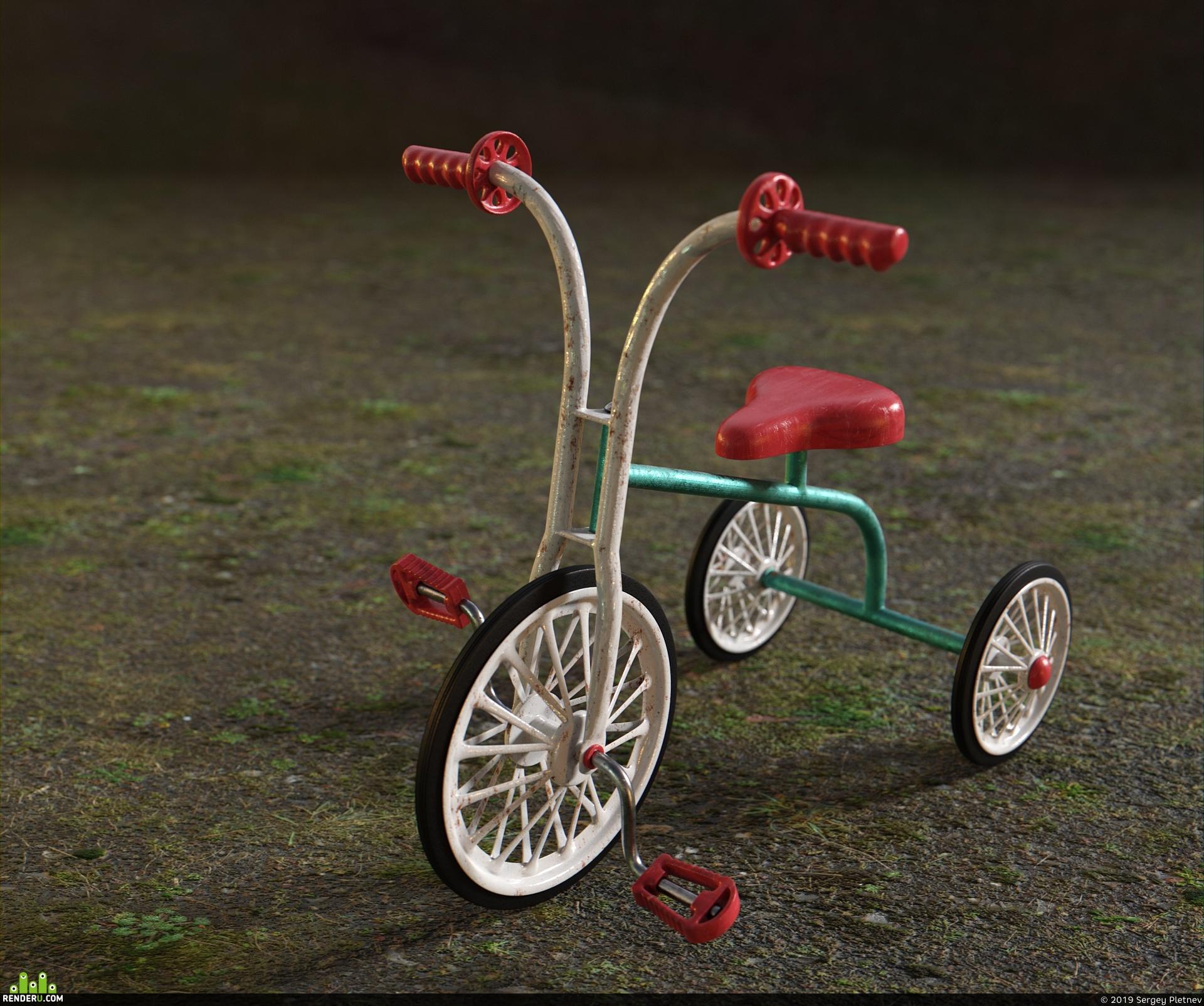 preview Детский велосипед