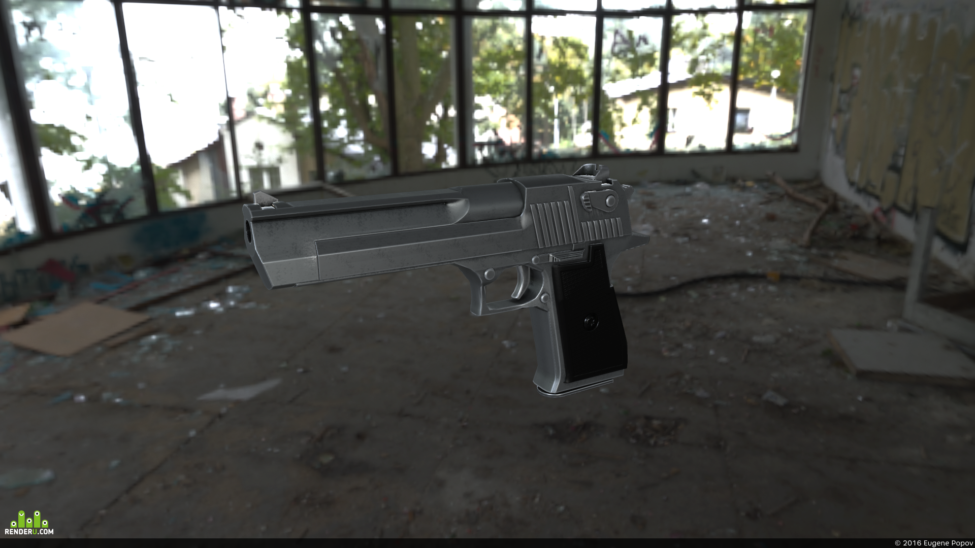 preview LowPoly Desert Eagle