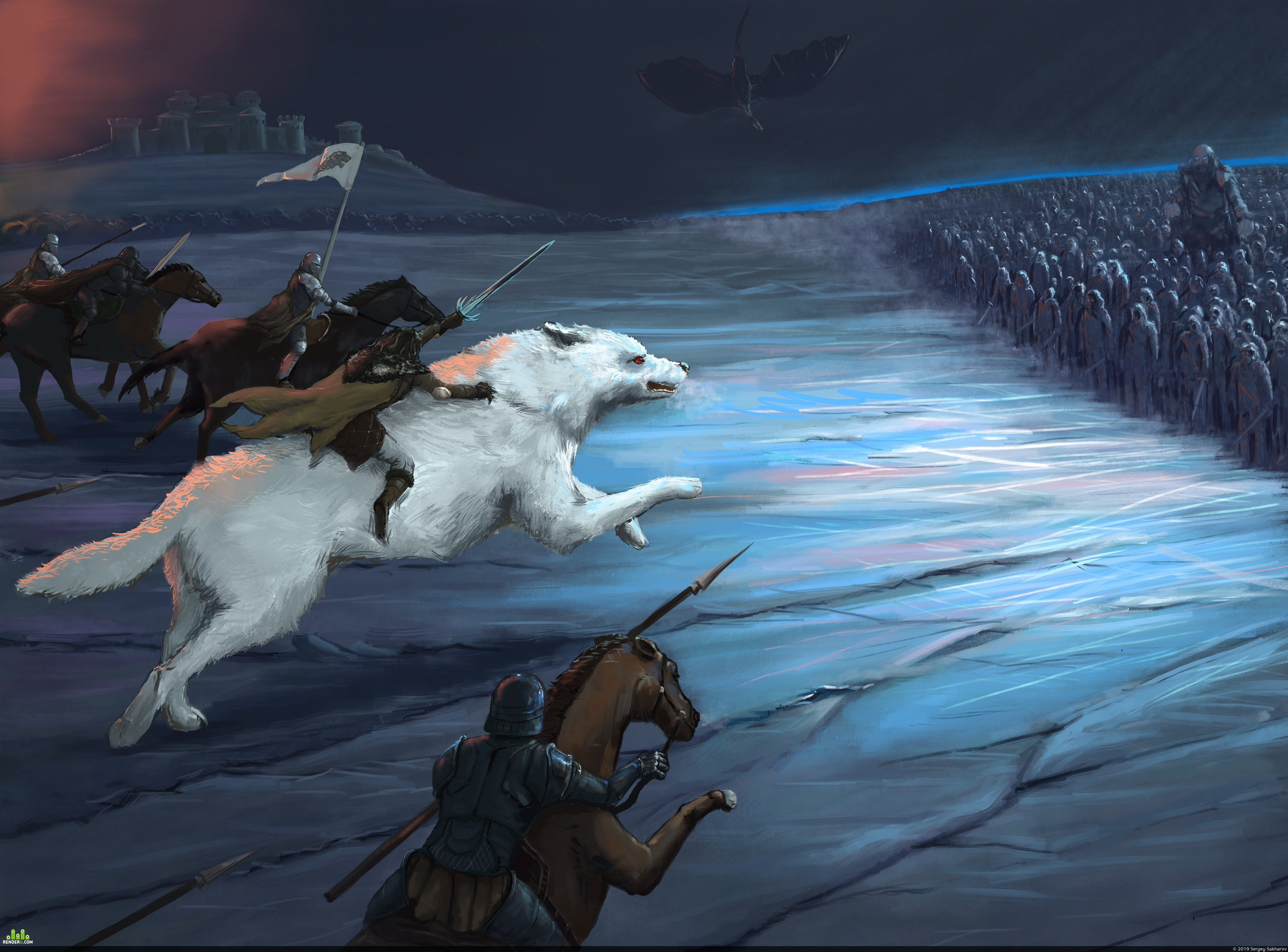 preview Game of thrones. Main battle.