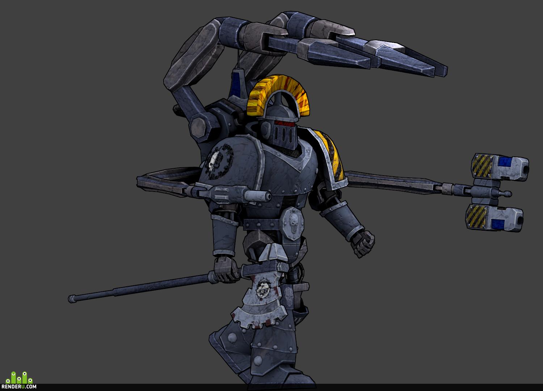preview Legioner №6  Iron Warriors