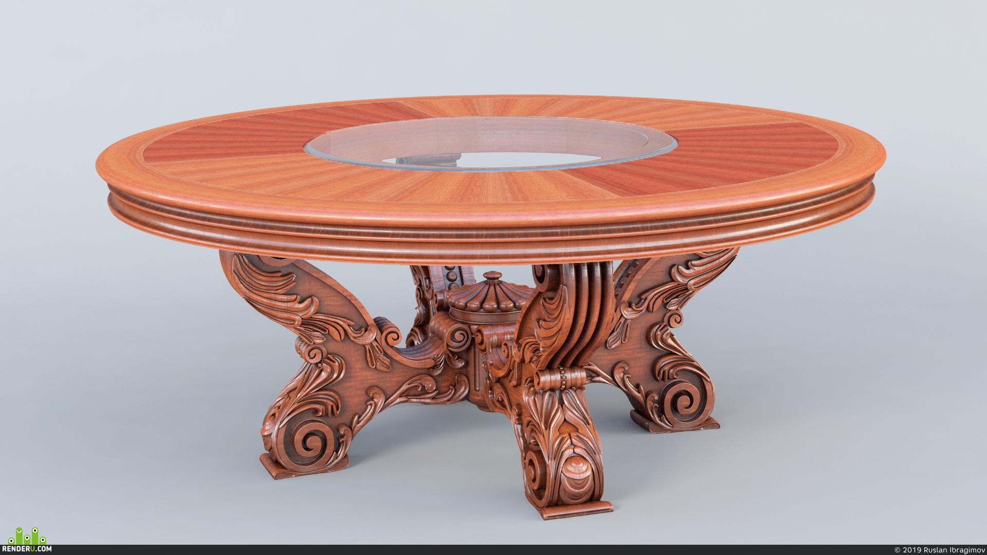 preview Классический стол