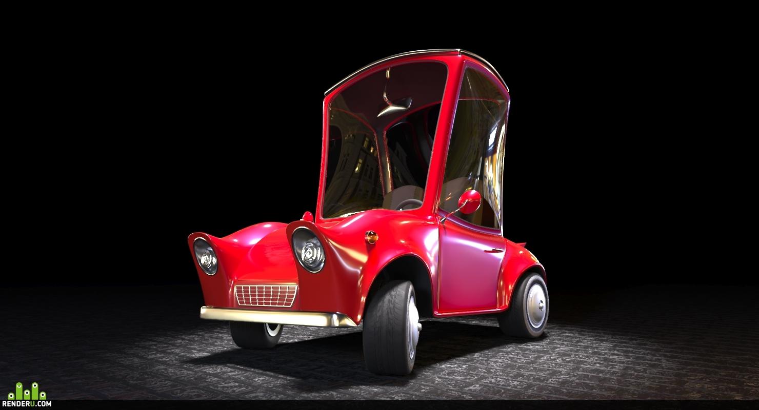 preview Мультяшный автомобиль
