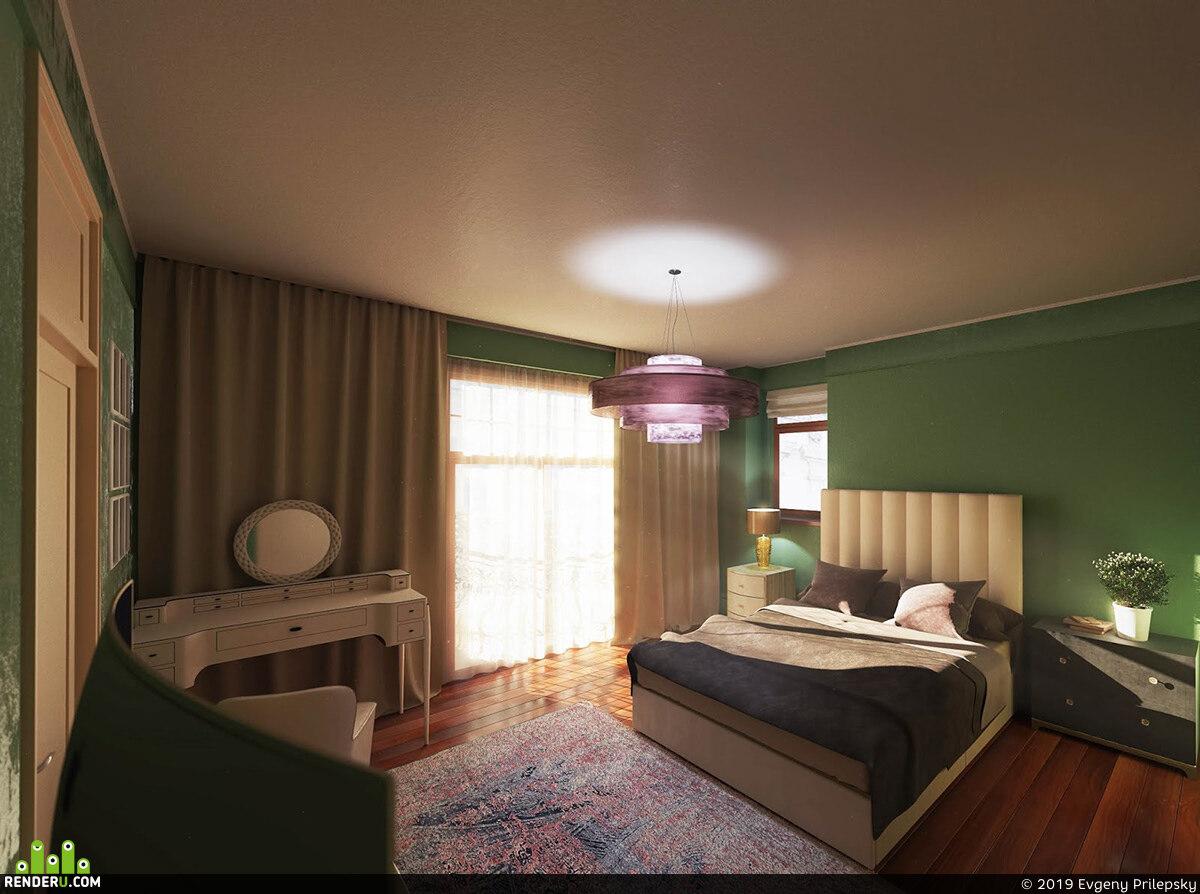 preview Спальня для молодой девушки