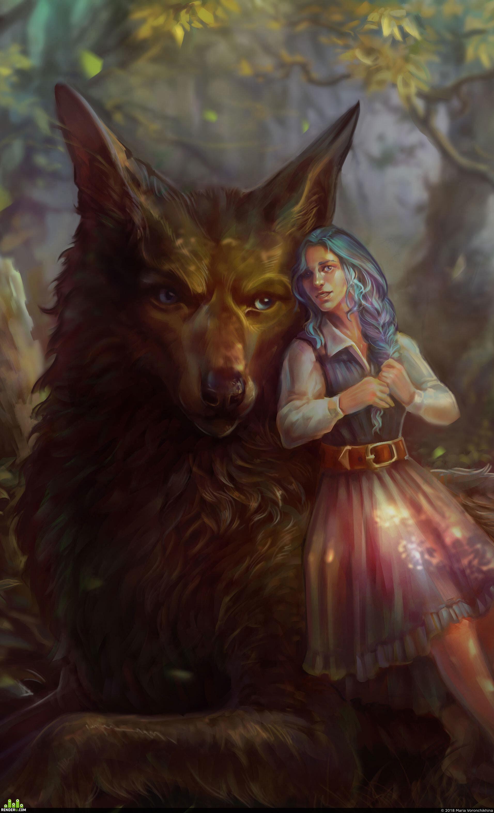 preview Волчица