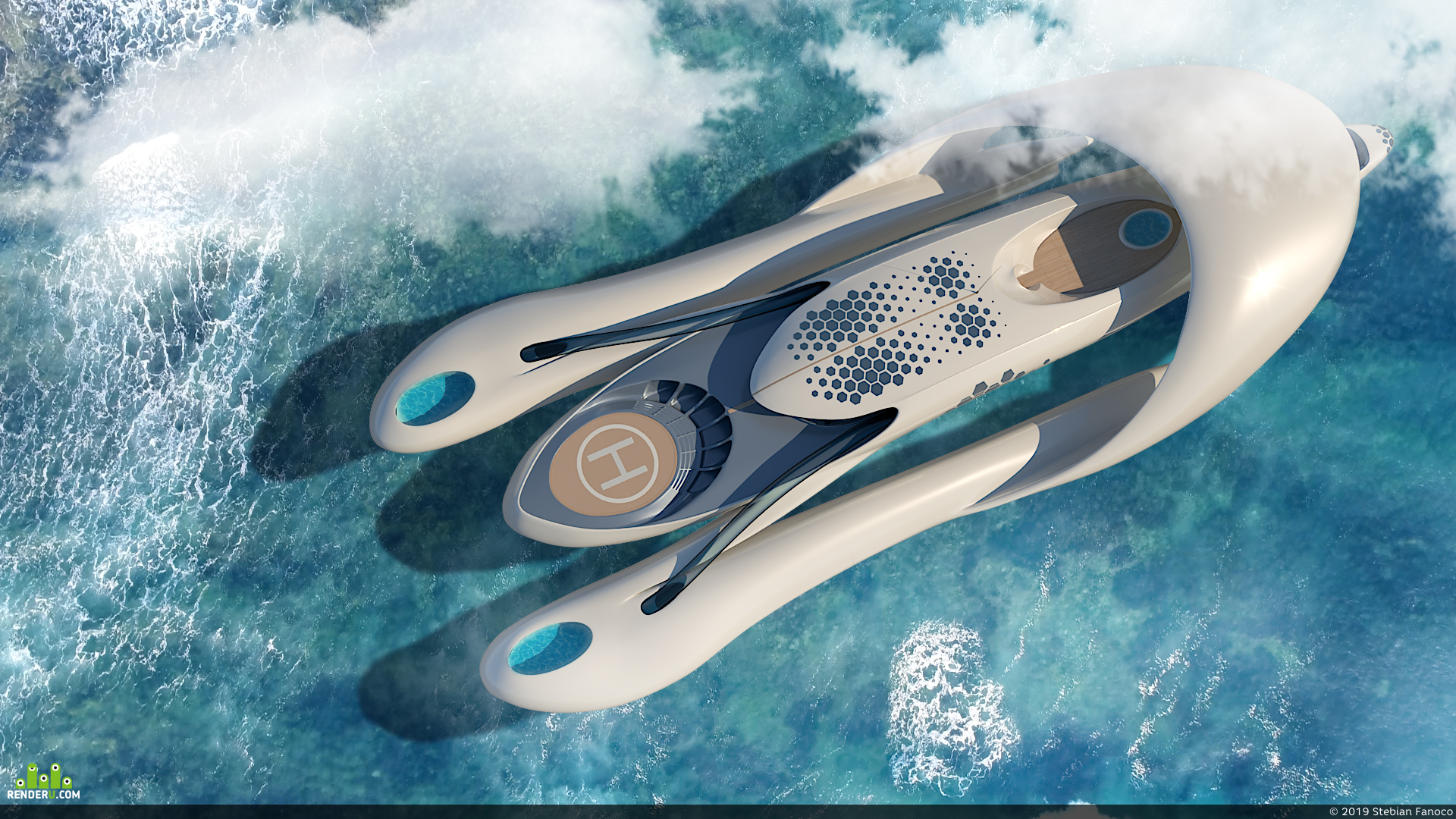 preview водный транспорт X-01