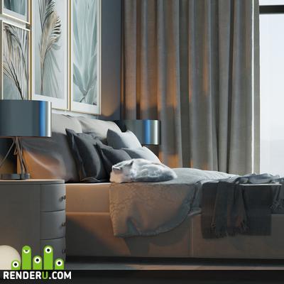 preview Вилла Богос, спальня