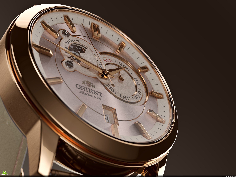 preview Визуализация наручных часов Orient