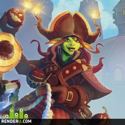 preview Пиратка-прихвостень
