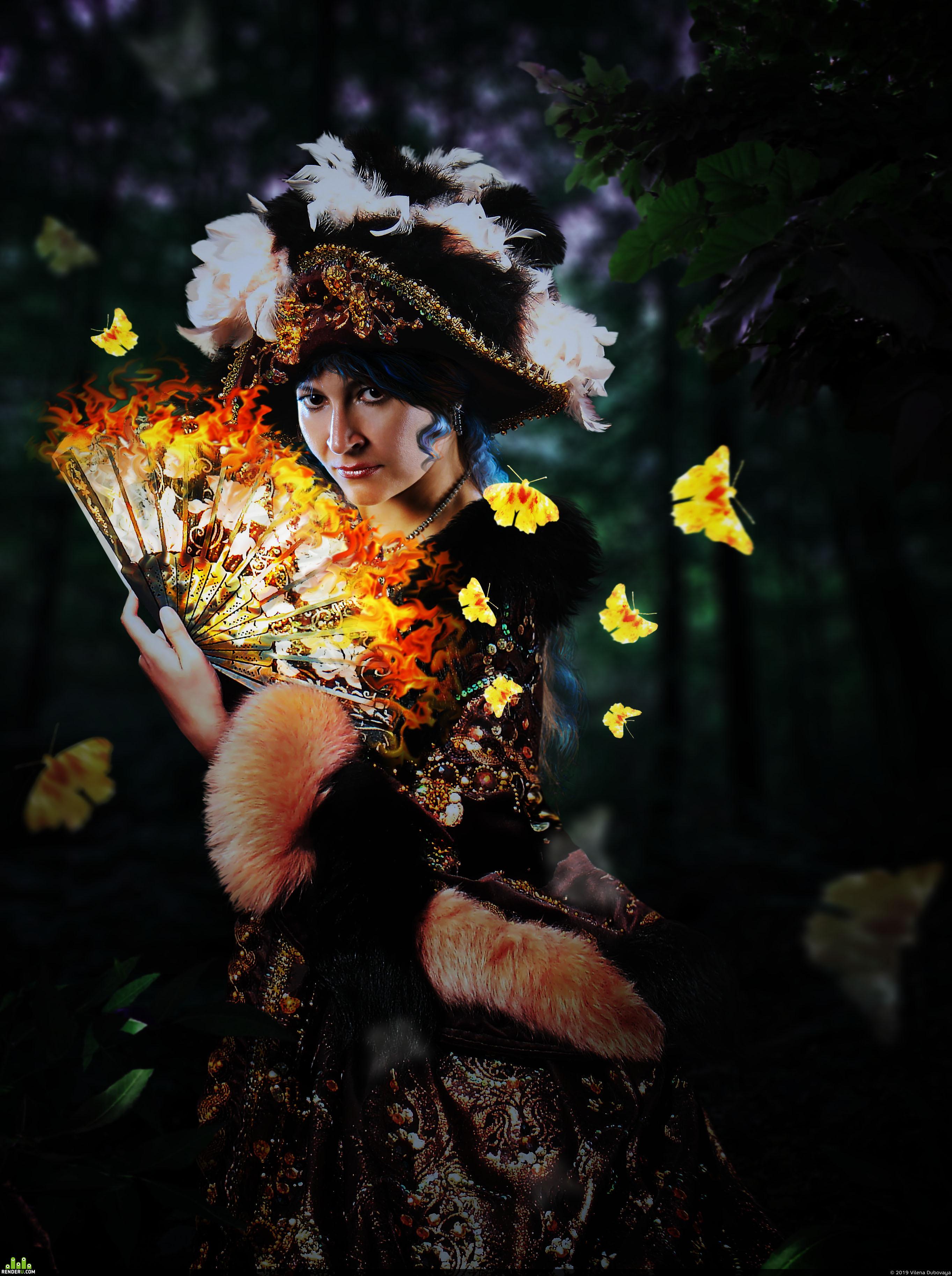 preview Колдунья, играющая с огнем