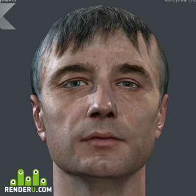 "preview Character heads for ""Metro 2033"" the Game"