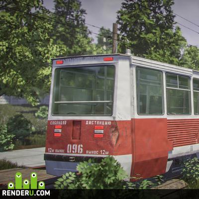 preview KTM 5 (Трамвай)