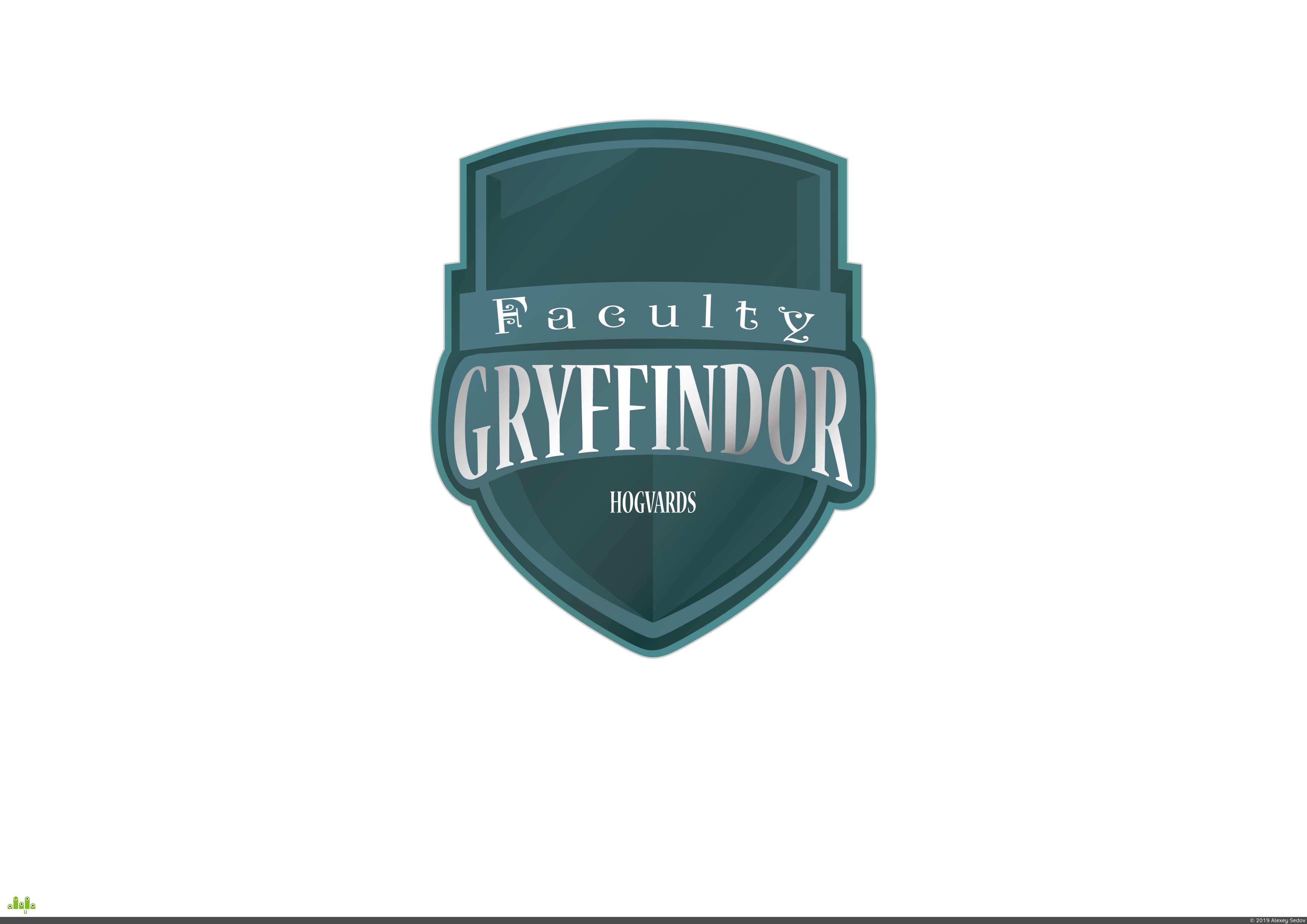 preview Griffindor shield
