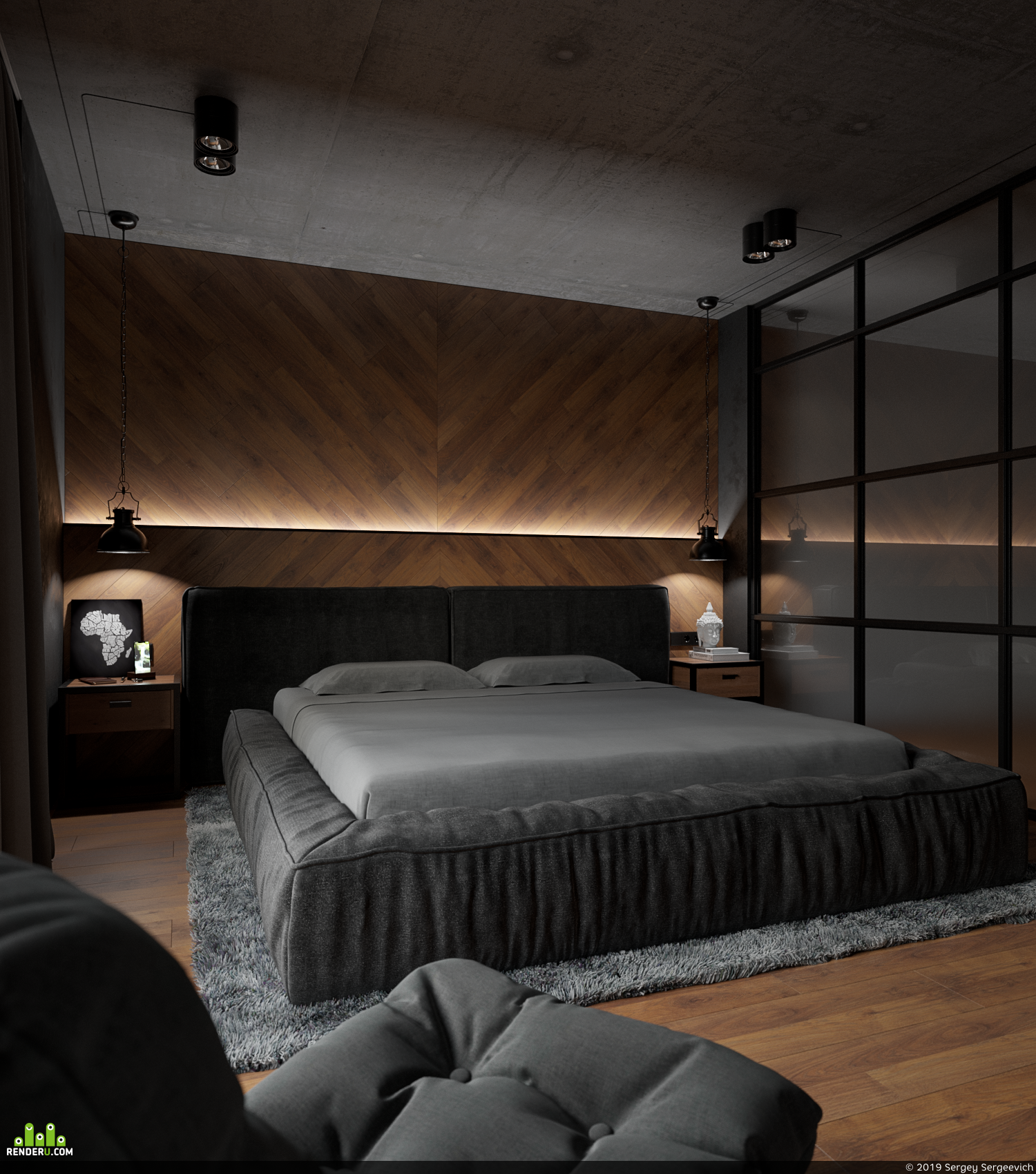 preview Спальня Лофт