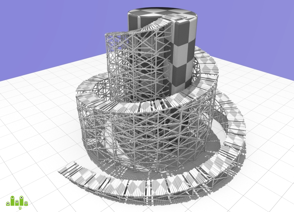preview Мостовая конструкция