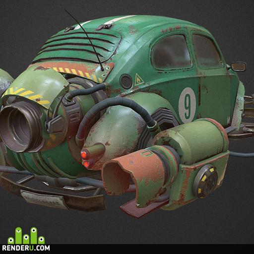 preview Rocketwagen