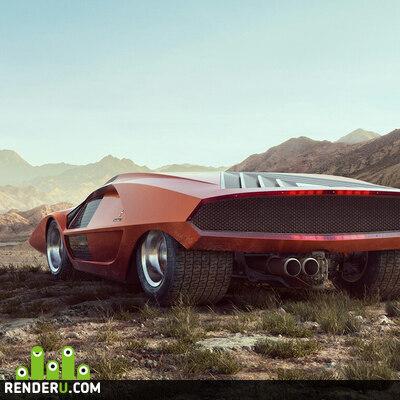 preview Lancia Stratos Zero