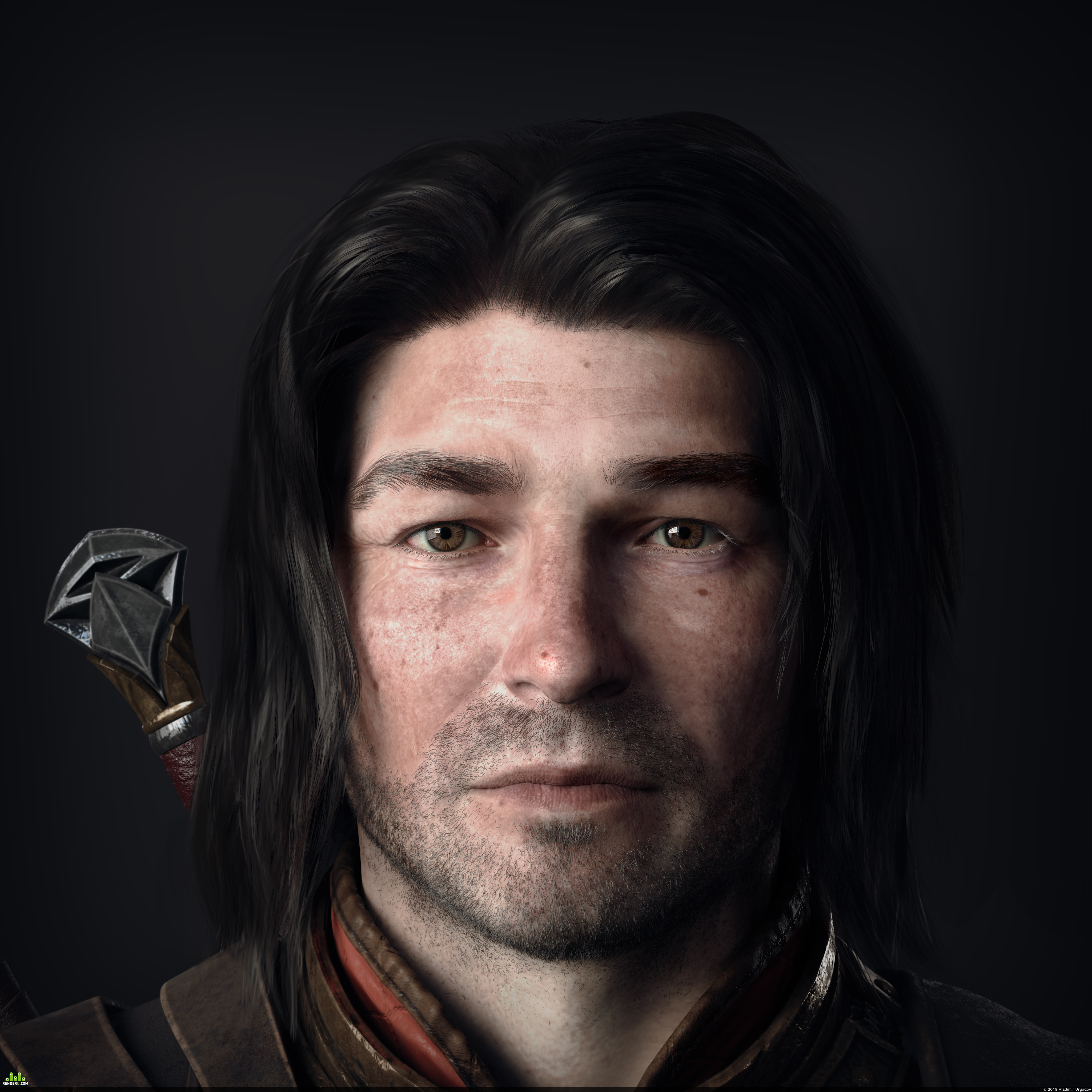 preview Middle-earth Talion fanart.