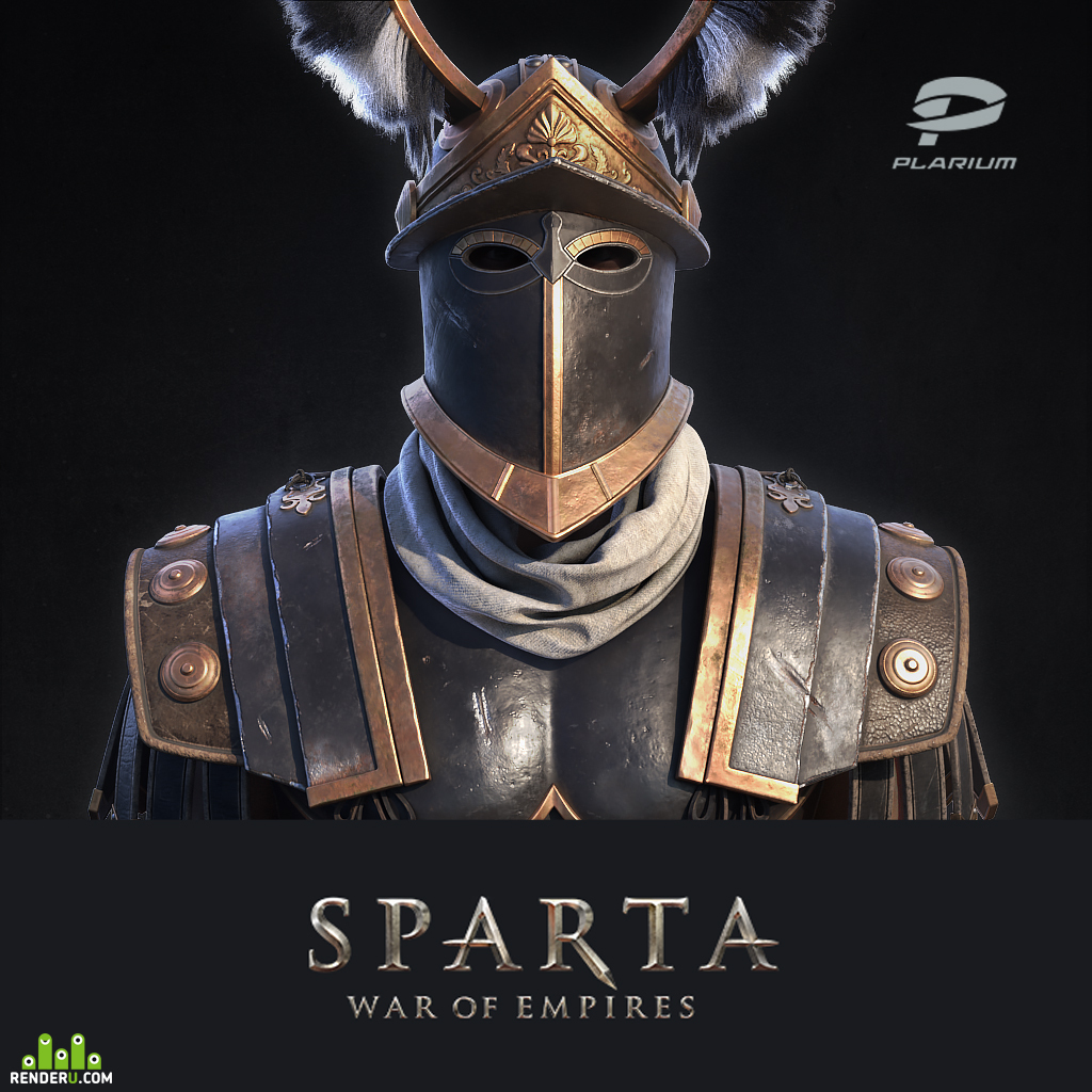 preview Spartan charioteer