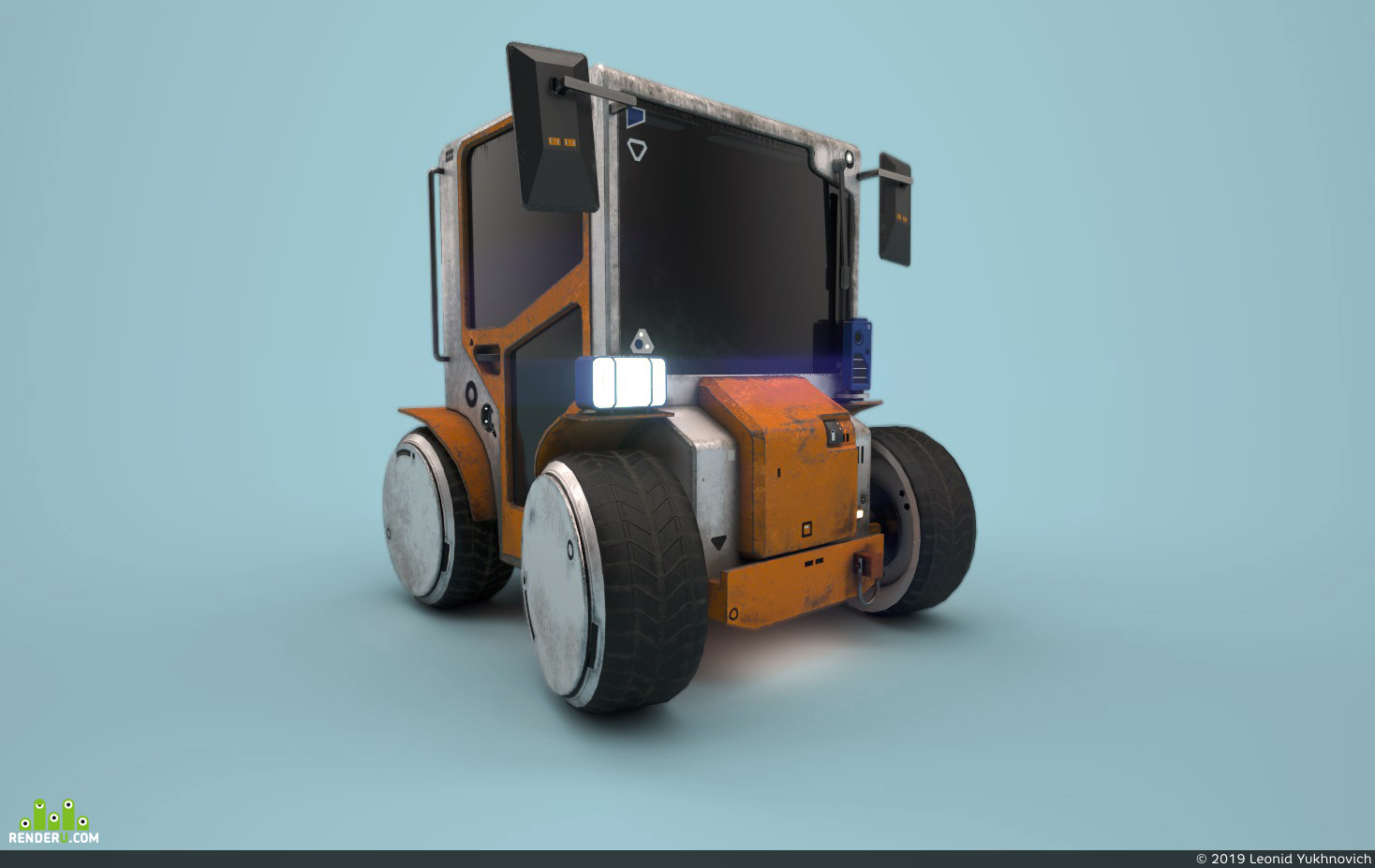 preview electric cart