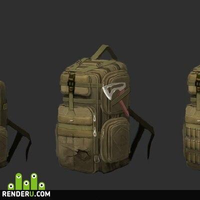 preview Модифицированный походный рюкзак