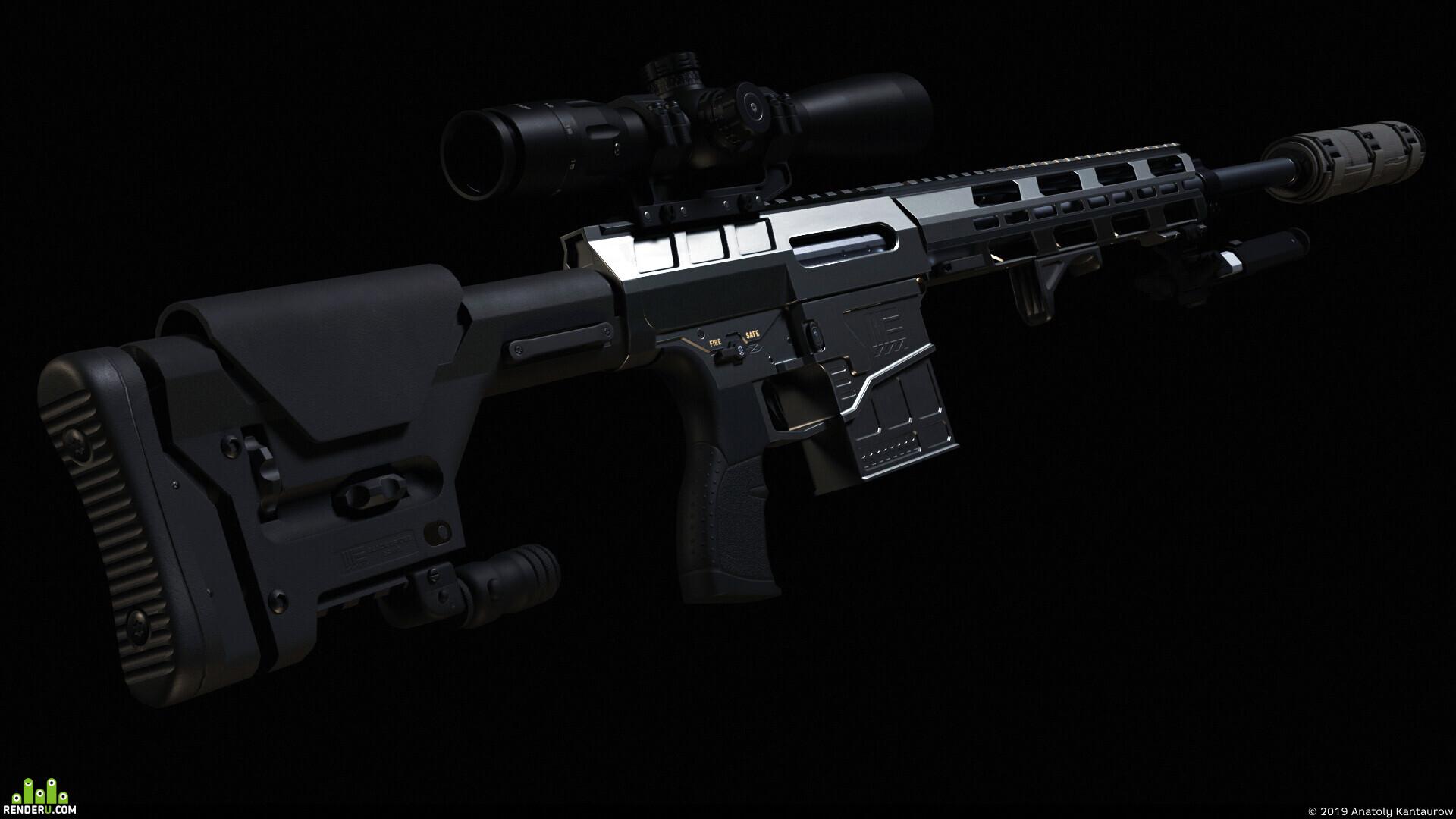 preview Современная высокоточная винтовка