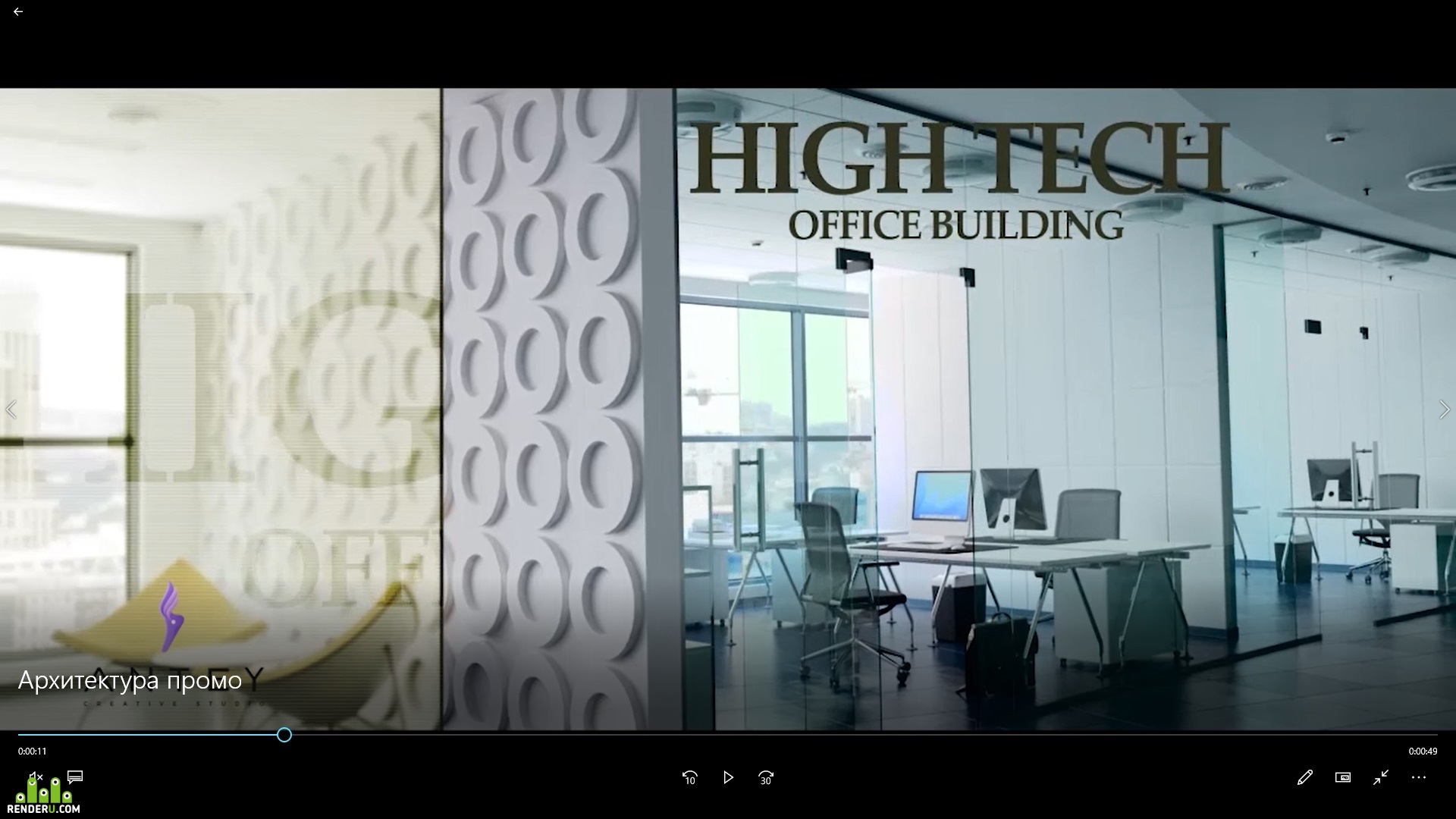 preview Promo video architecture and interiors