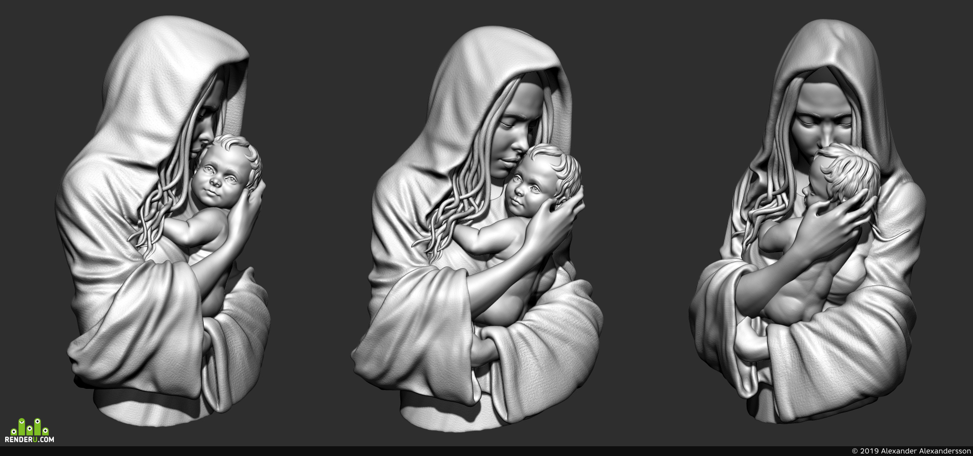 preview Дева с младенцем