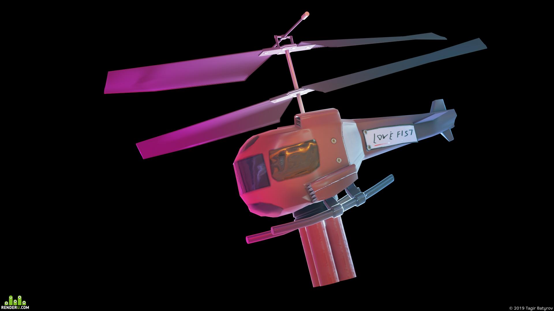preview Вертолётик из Gta vice city