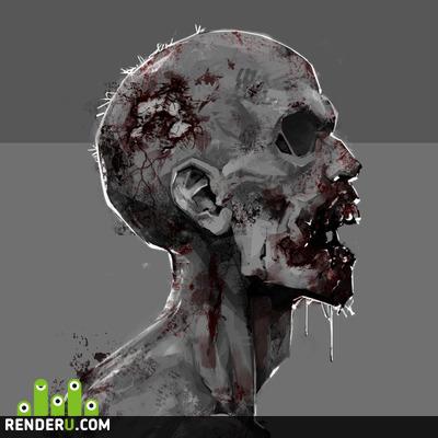 preview Zombie - concept art