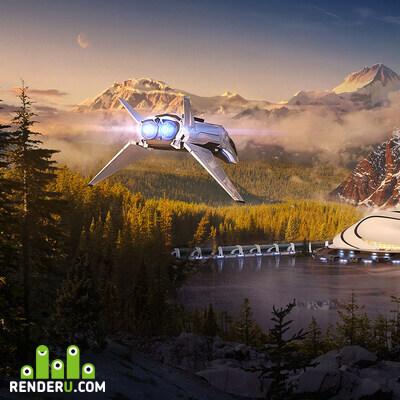 preview Spaceport in the mountains