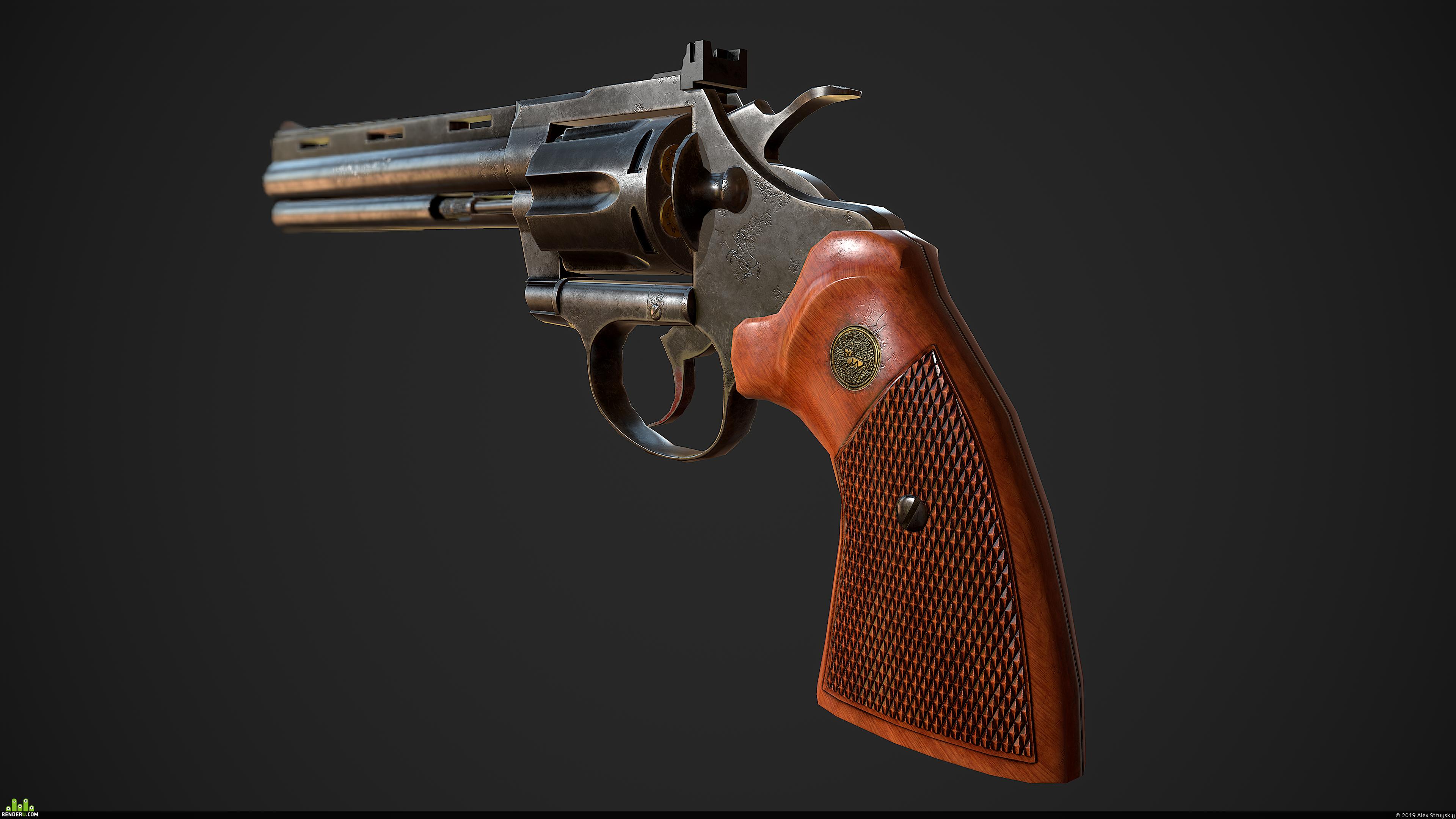 preview Colt Diamondback AKA Python magnum 357