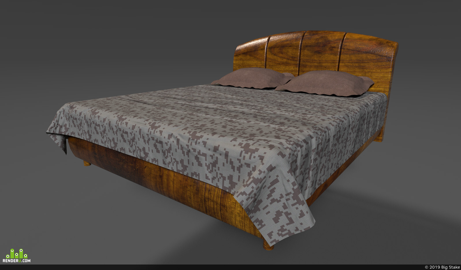 preview Lacquered bed
