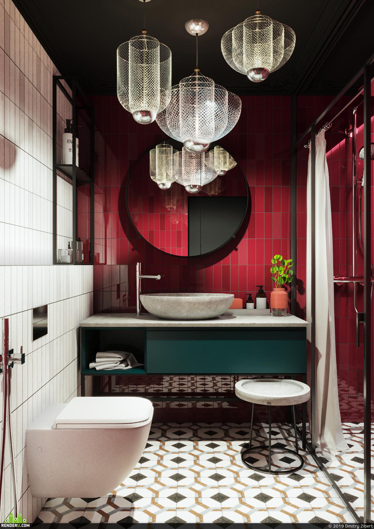 preview Дизайн и визуализиция современной квартиры