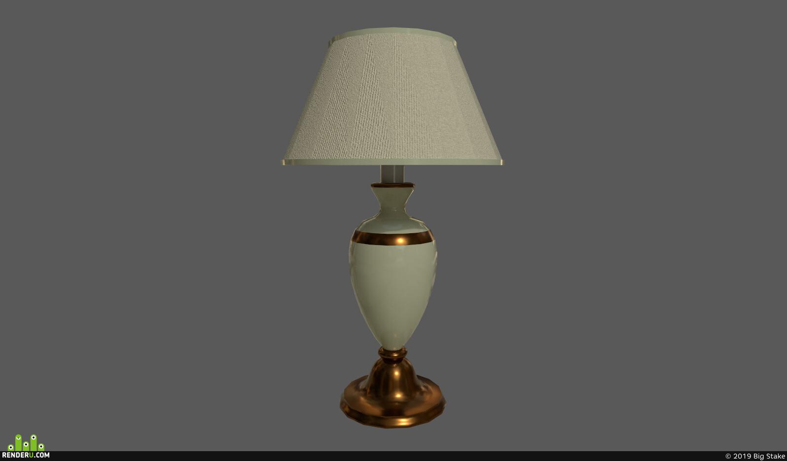 preview Porcelain Lamp