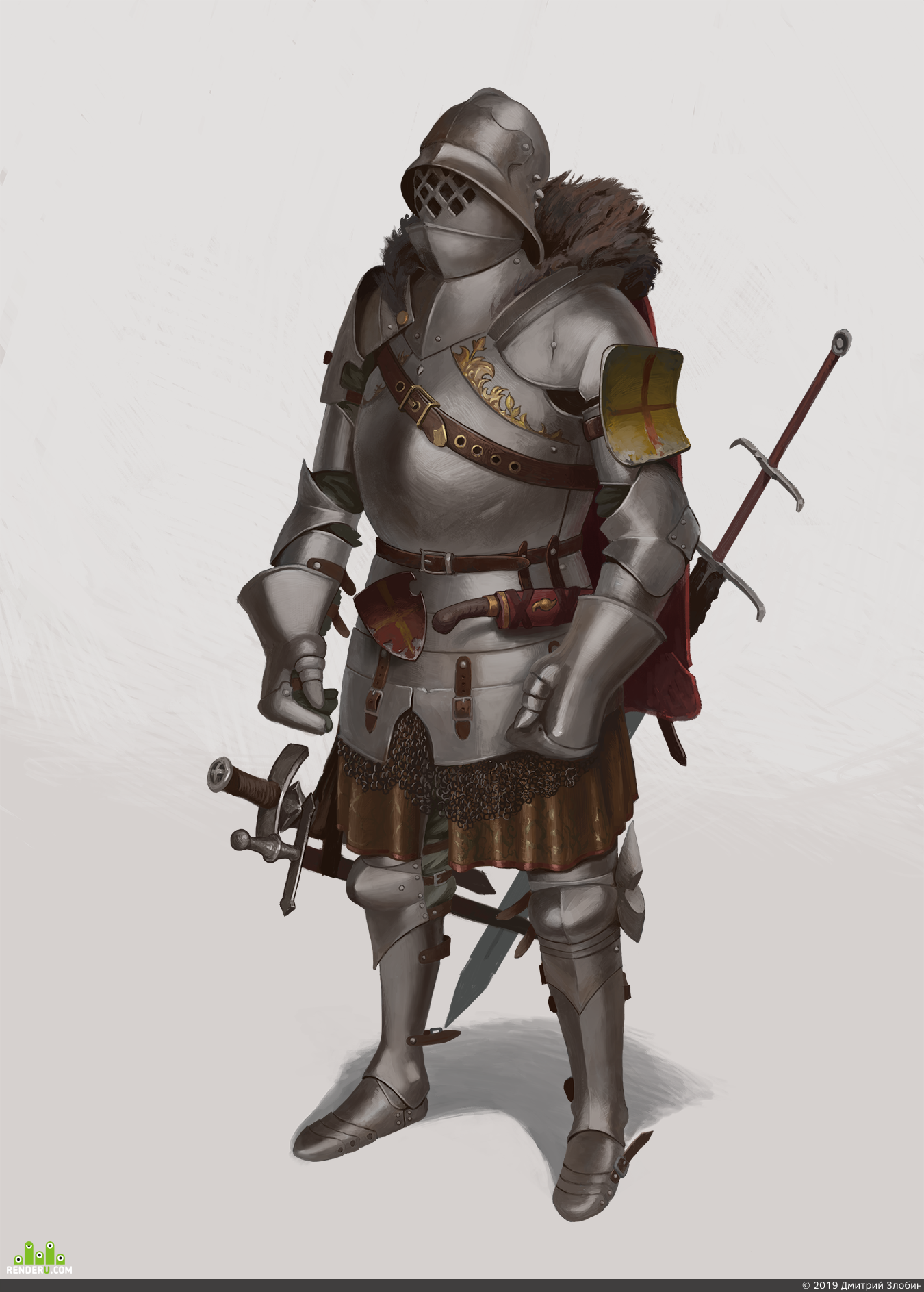 preview Knight Concept / Концепт Рыцаря