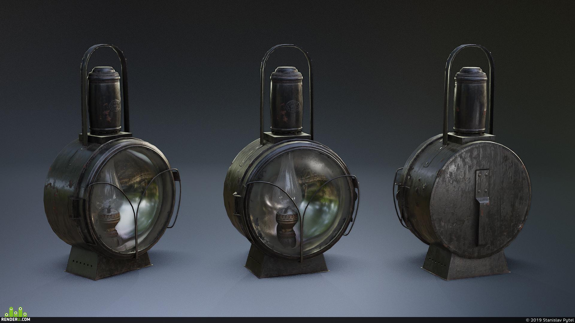 preview Железнодорожная лампа
