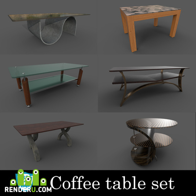 preview Coffee table set