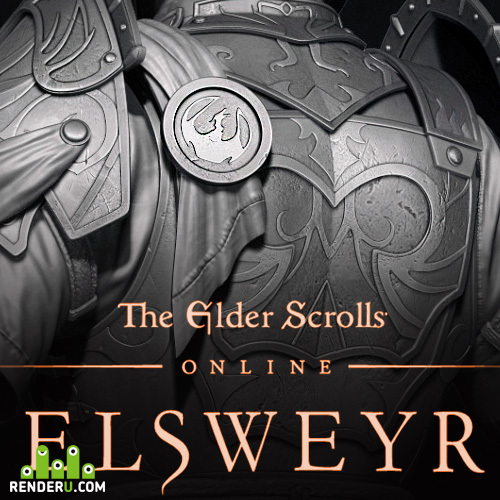 preview Dragon Armors for Bethesda's The Elder Scrolls Online Elsweyr