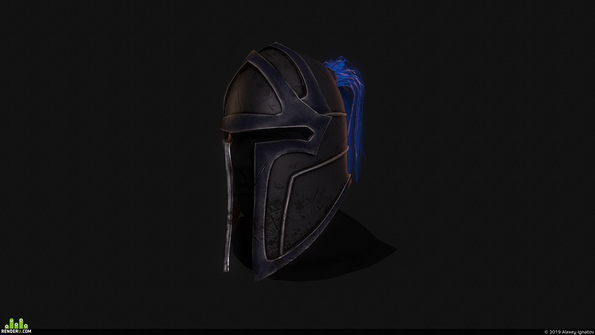 preview Шлем пехотинца Альянса