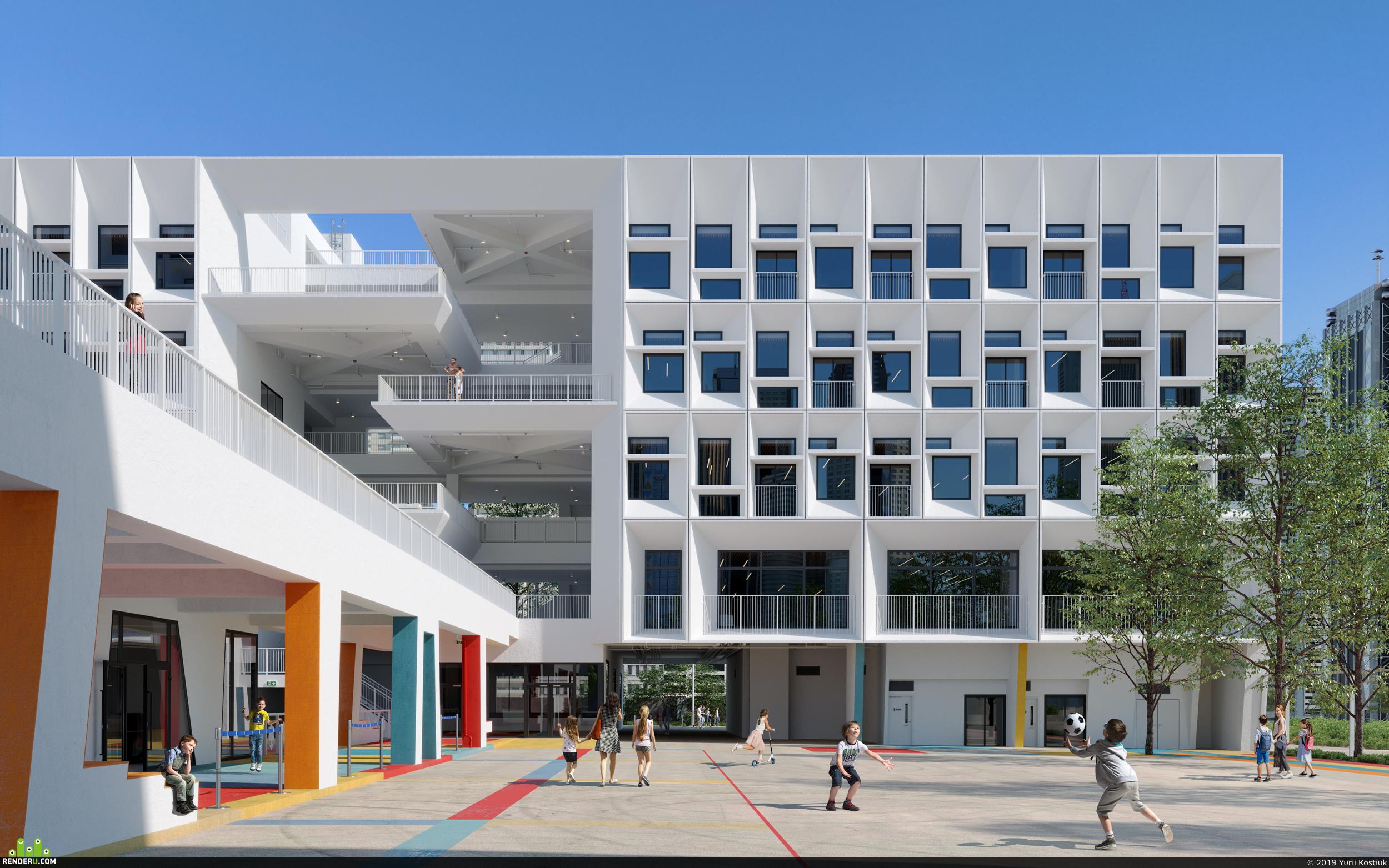 preview Henning Larsen's French International School
