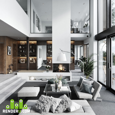 preview Modern house in Sweden