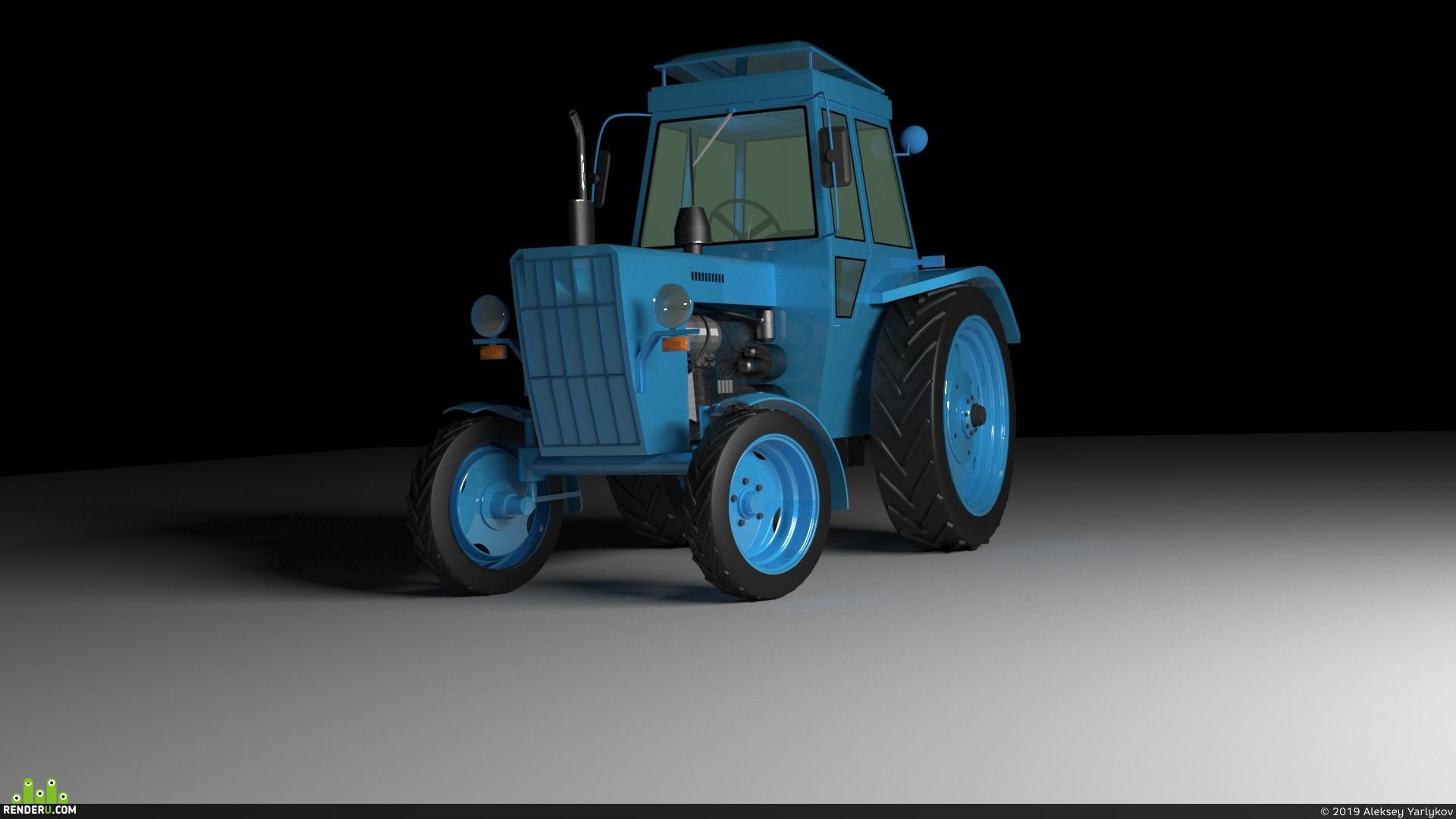 preview Трактор