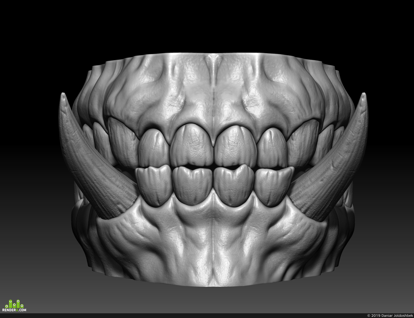 preview teeth of orc